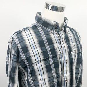 Carhartt XL Relaxed Fit Mesh Vented Work Shirt